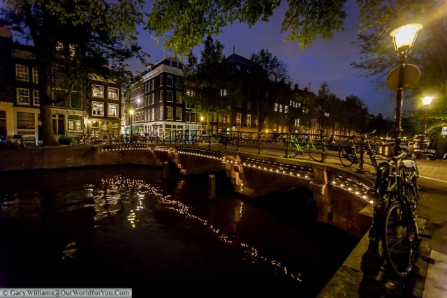 A bridge over Herengracht, Amsterdam, The Netherlands