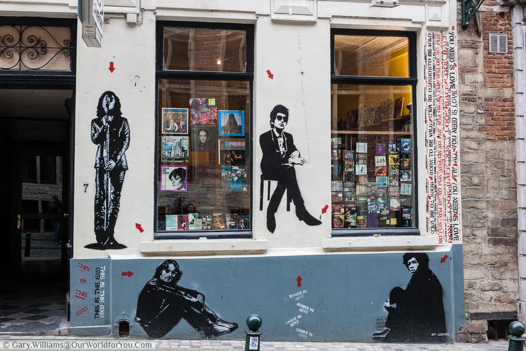 The Arelquin Record Store, Brussels, Belgium