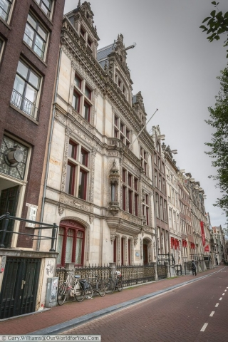 Beautiful Town Houses, Amsterdam, The Netherlands