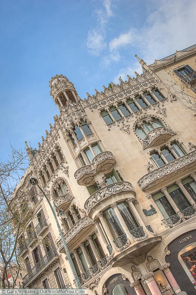Casa Lleó Morera, Barcelona, Spain