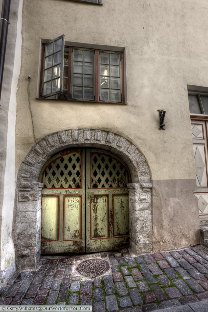 Tallinn's old town is full of history, every doorway or passage feels like it has a story or two to tell.