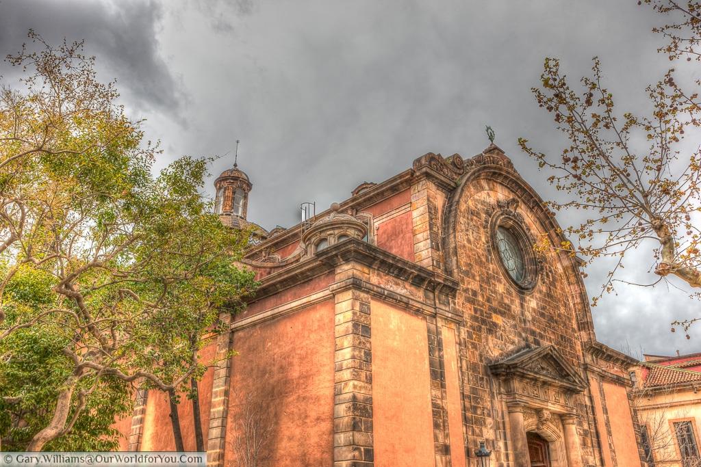 Església Castrense de la Ciutadella, Barcelona, Spain