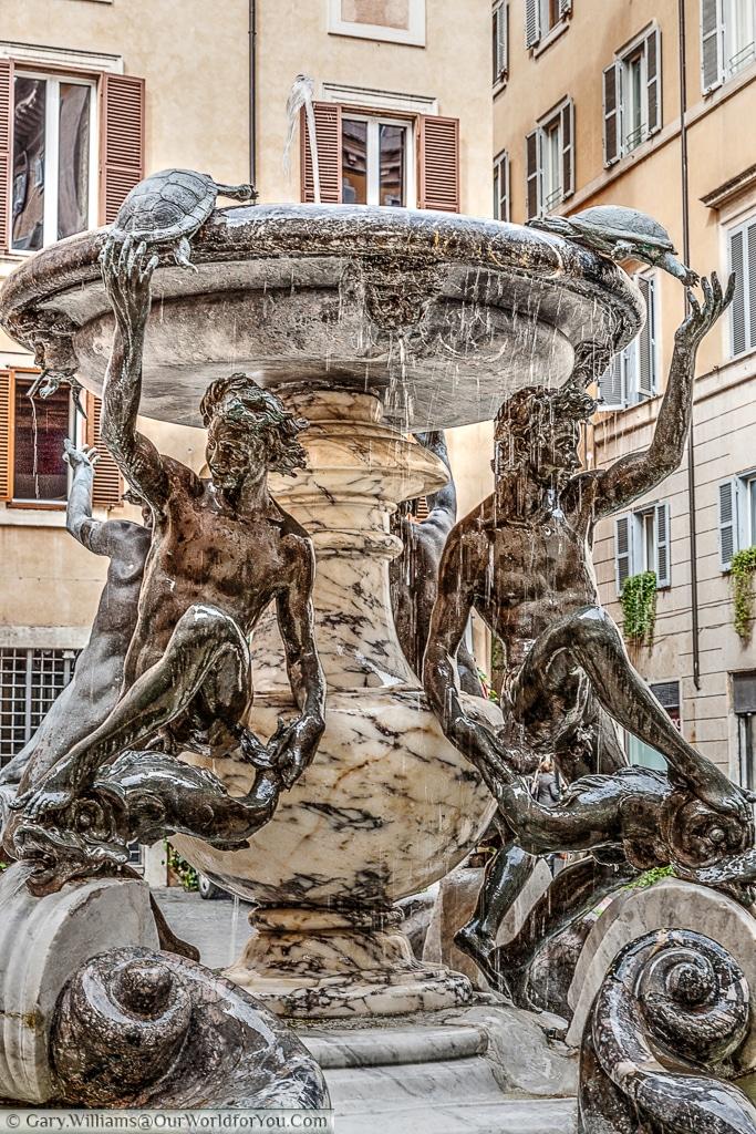 Fontana delle Tartarughe, Rome, Italy