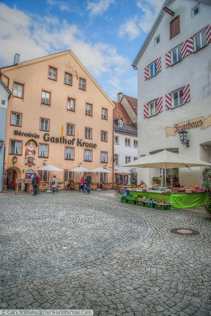 Gasthof Krone, Füssen,Bavaria, Germany