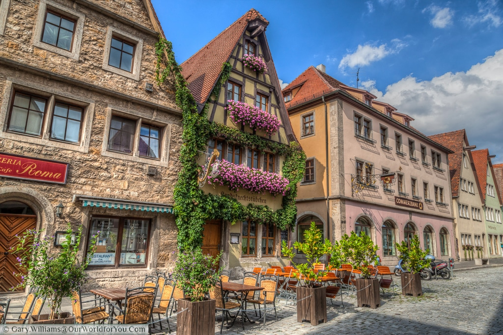 Hocher Hotel & Cafe (Hotel Frei), Rothenburg ob der Tauber, Bavaria, Germany