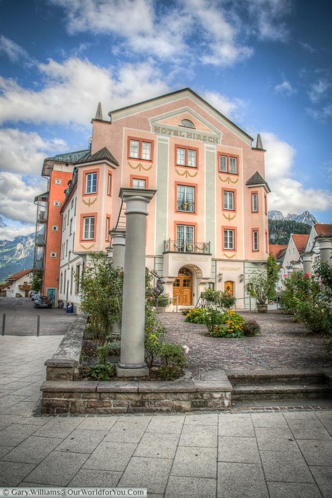 Hotel Hirsch, Füssen,Bavaria, Germany