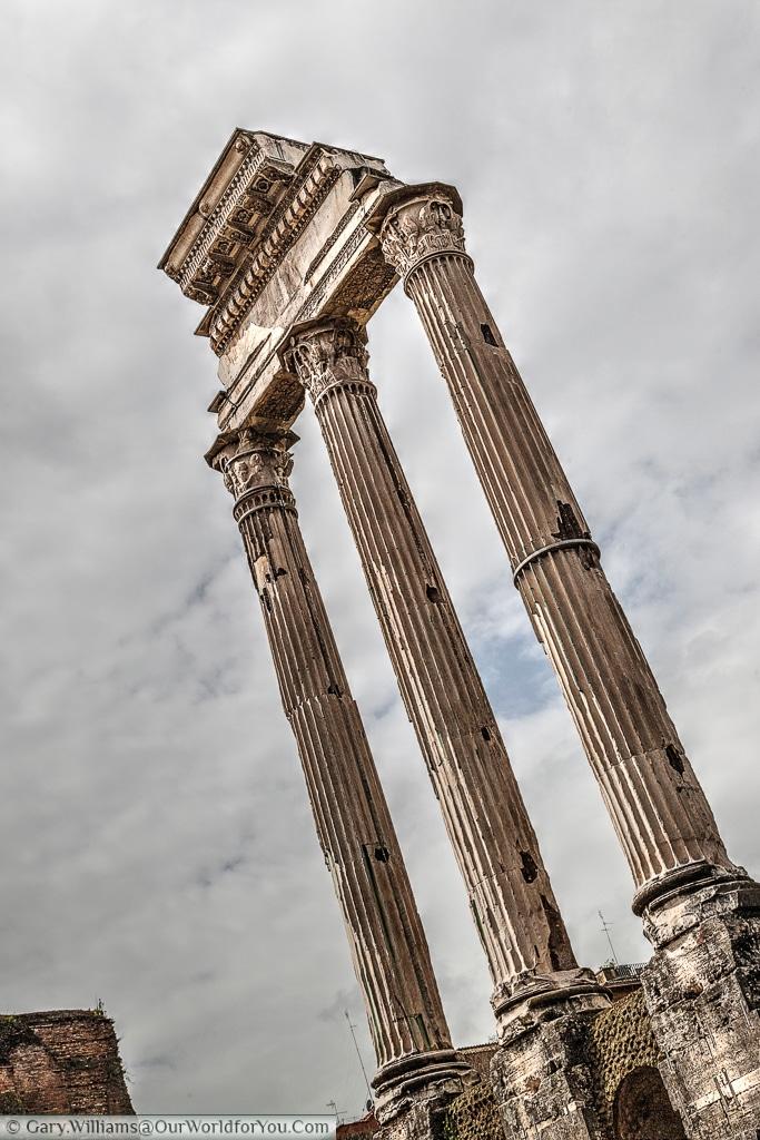 Il Tempio dei Dioscuri, Rome, Italy