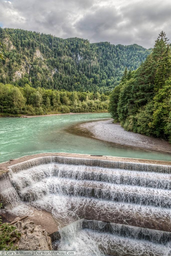 Lech Falls, Füssen,Bavaria, Germany