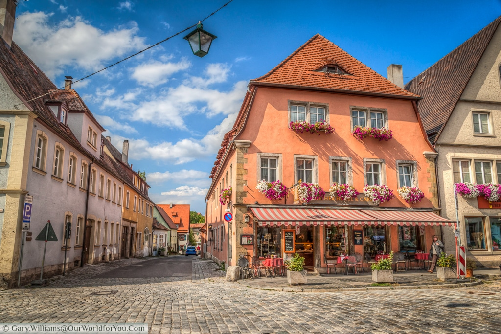 Magical Rothenburg ob der Tauber, Bavaria, Germany