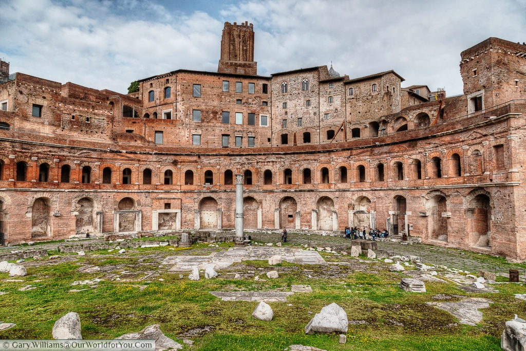 Mercati di Traiano, Rome, Italy