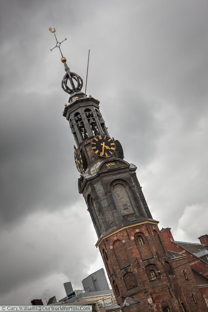 Munttoren (Coin Tower), Amsterdam, The Netherlands