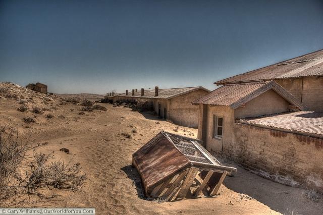 Nothing can stop the sand, Kolmanskop, Namibia