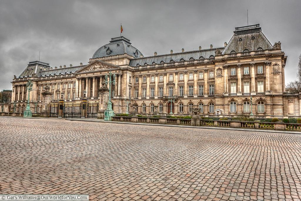 The Palais Royal de Bruxelles, Brussels, Belgium