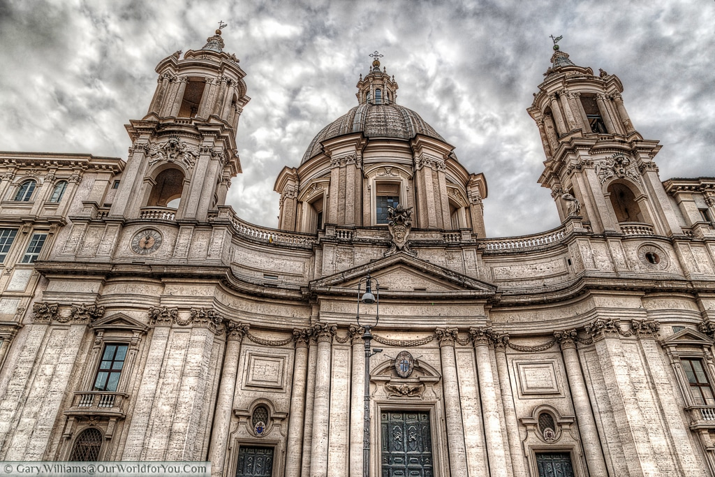 Sant'Agnese in Agone, Rome, Italy