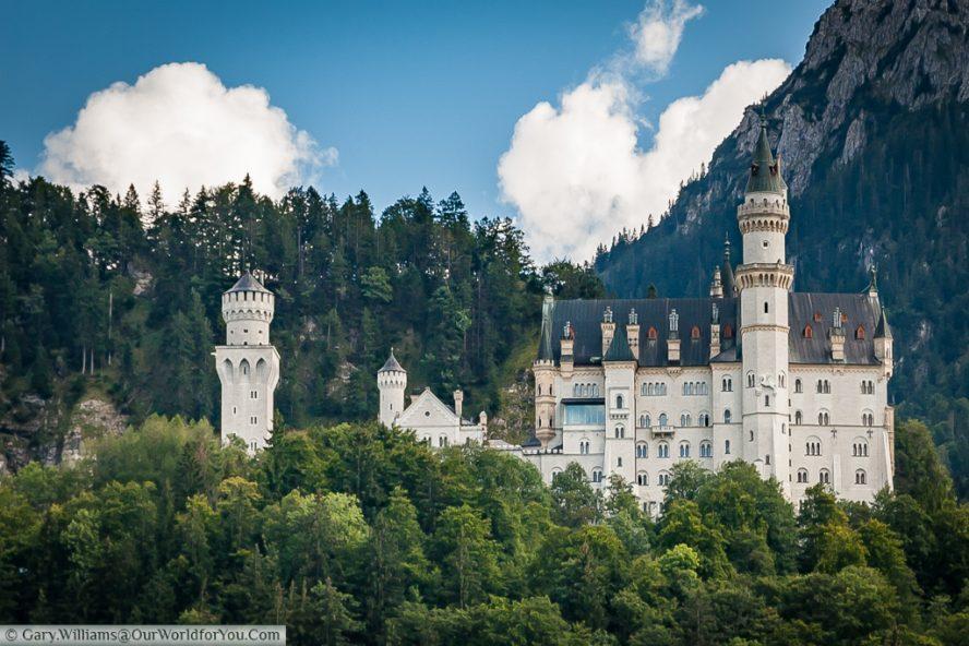 Schloss Neuschwanstein, Hohenschwangau, Bavaria, Germany