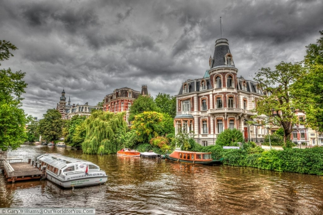 Singel Canal - Singelgracht, Amsterdam, The Netherlands