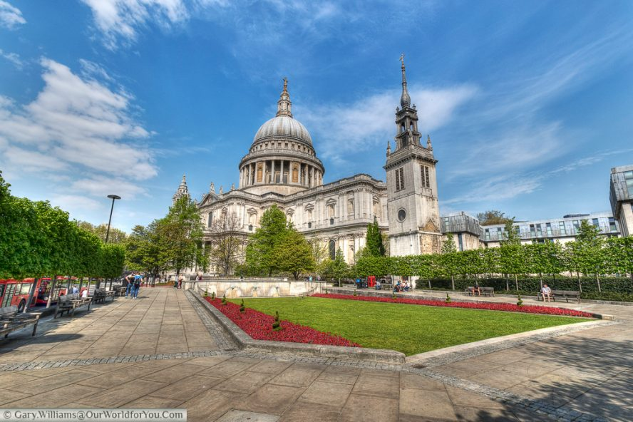 St Paul's Cathedral, in the heart of the City of London