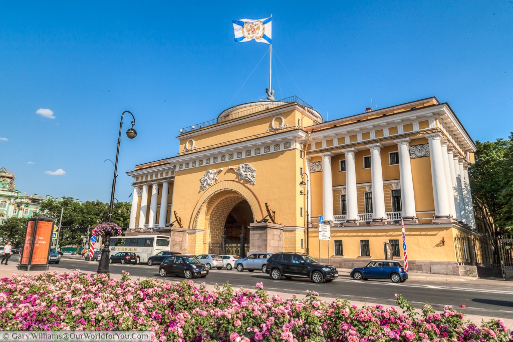 The Admiralty, St Petersburg, Russia