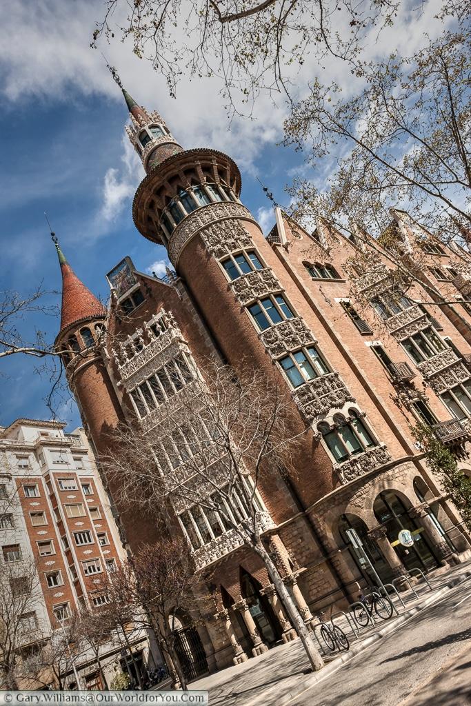 The Casa Terrades, Barcelona, Spain