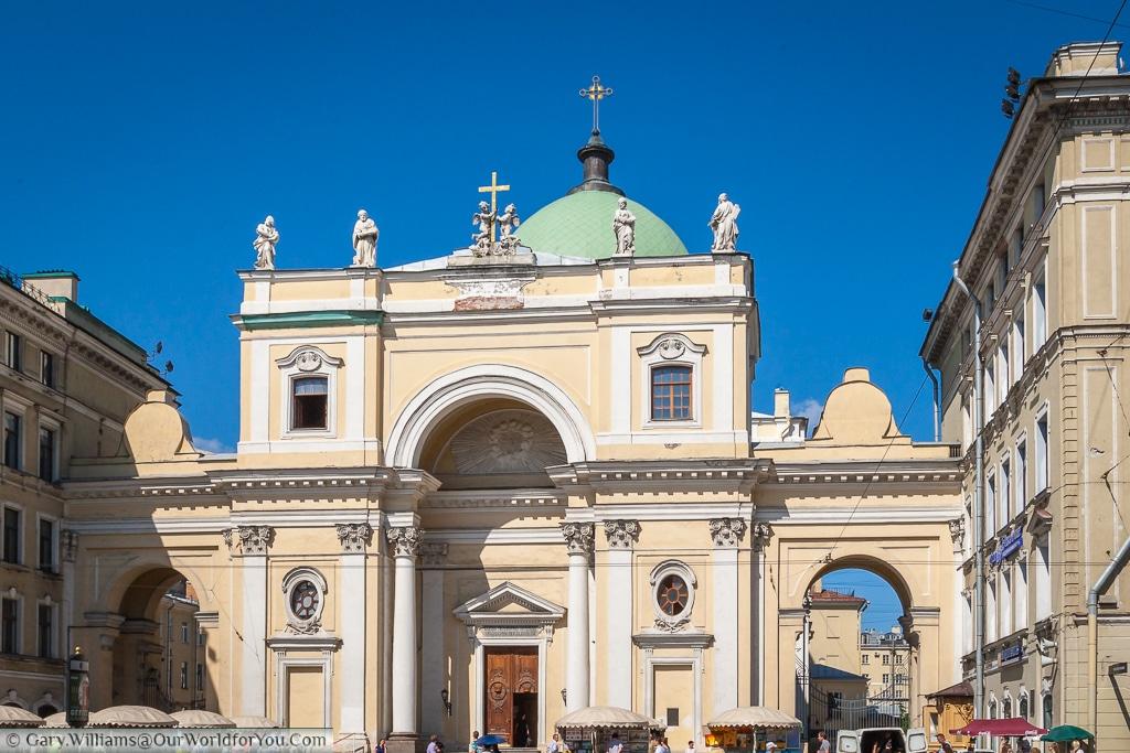 The Catholic church of St Catherine, St Petersburg, Russia