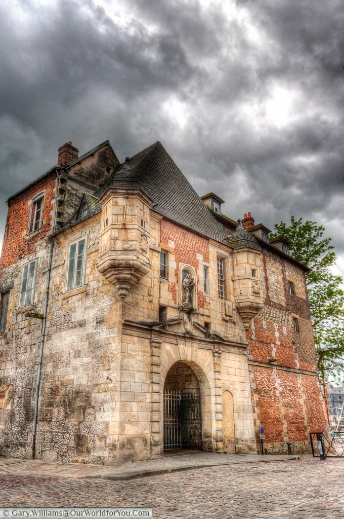 The City Gate, Honfleur, France