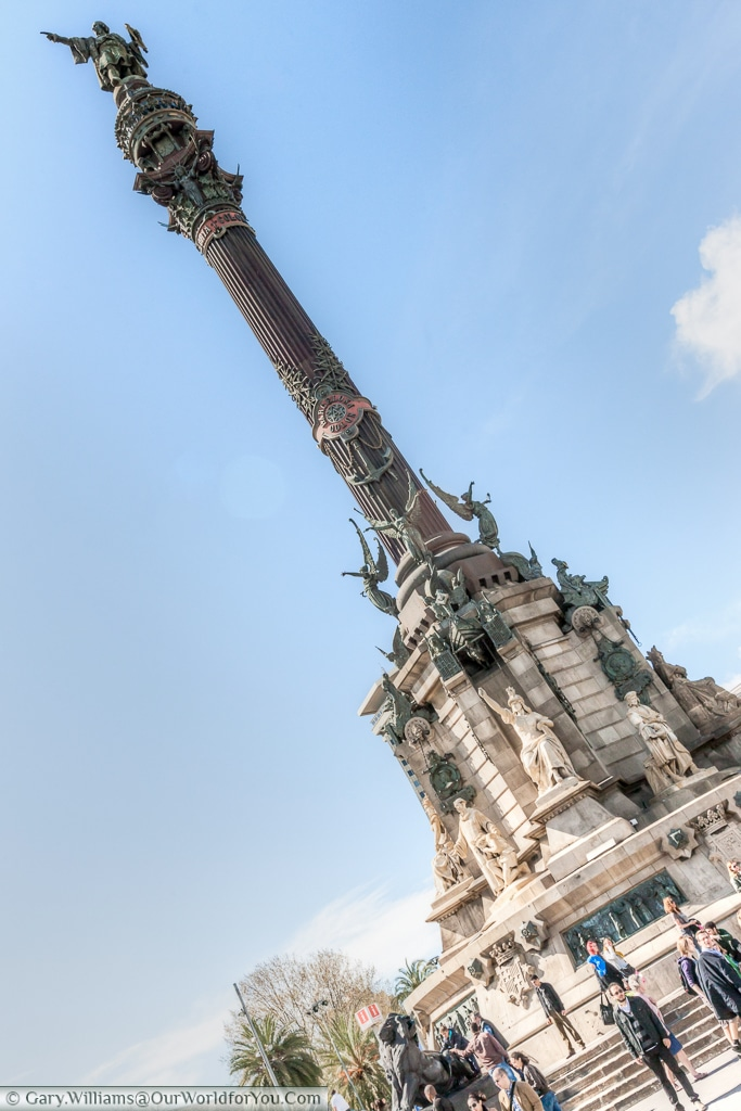 The Columbus Monument, Barcelona, Spain