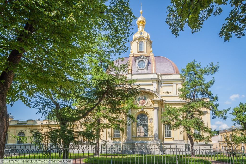 The Grand-Ducal Burial Vault, Peter and Paul Cathedral, St Petersburg, Russia
