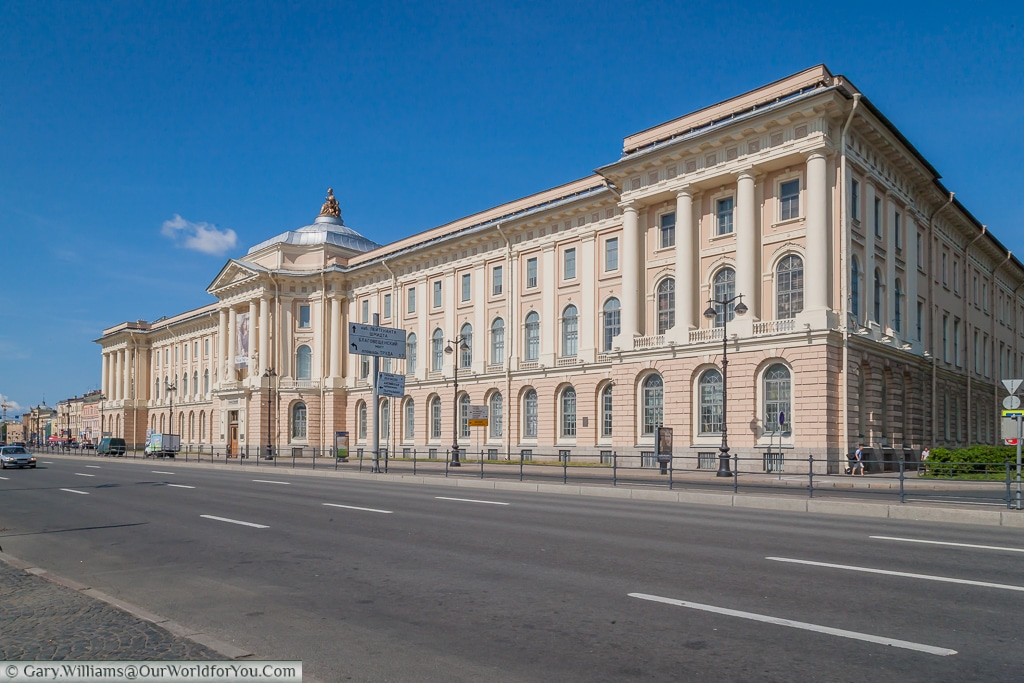The Imperial Academy of Arts, St Petersburg, Russia