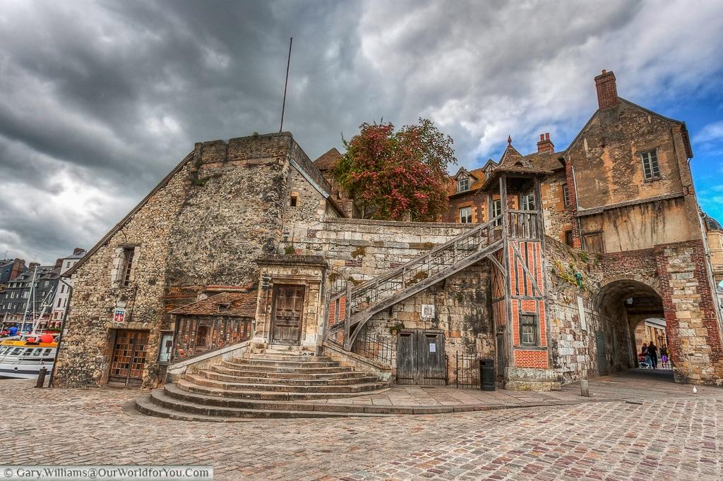 The view of the Lieutenancy, Honfleur, France