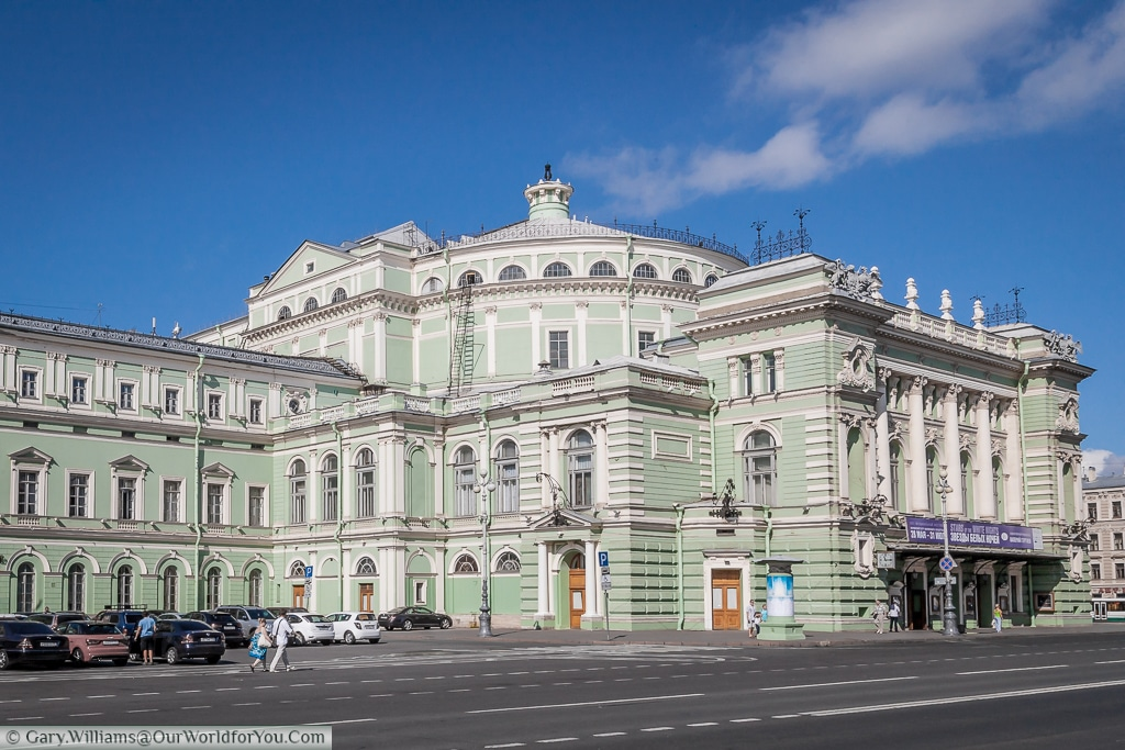 The Mariinsky Theatre, St Petersburg, Russia