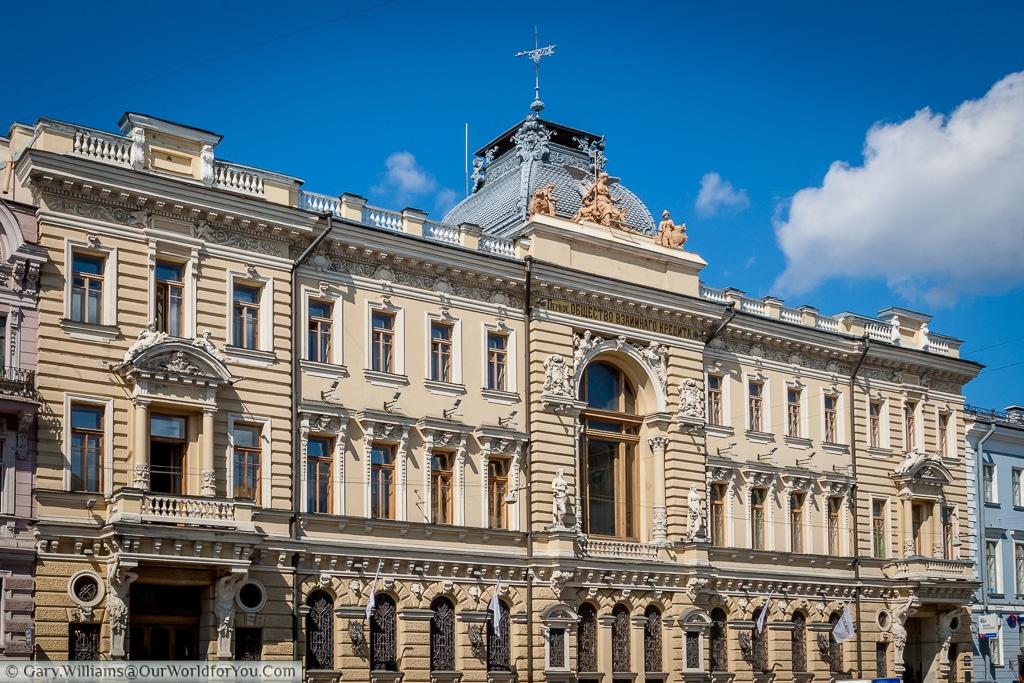 The Rosbank building, St Petersburg, Russia