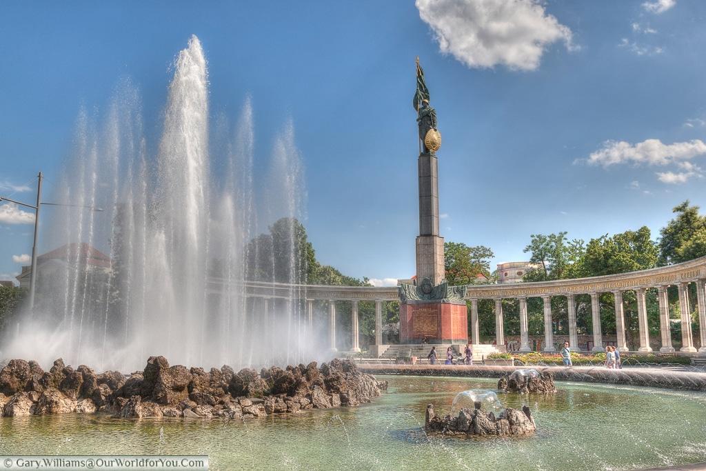 The Soviet Monument - Hochstrahlbrunnen, Vienna, Austria