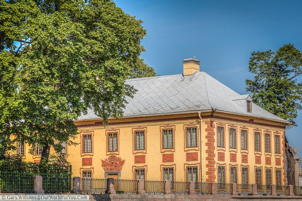 The Summer Palace of Peter the Great, St Petersburg, Russia