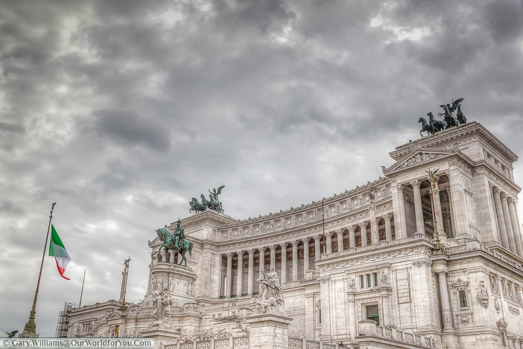 The Victor Emmanuel II Monument, Rome, Italy