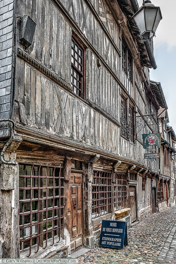 The museum of Old Honfleur, France