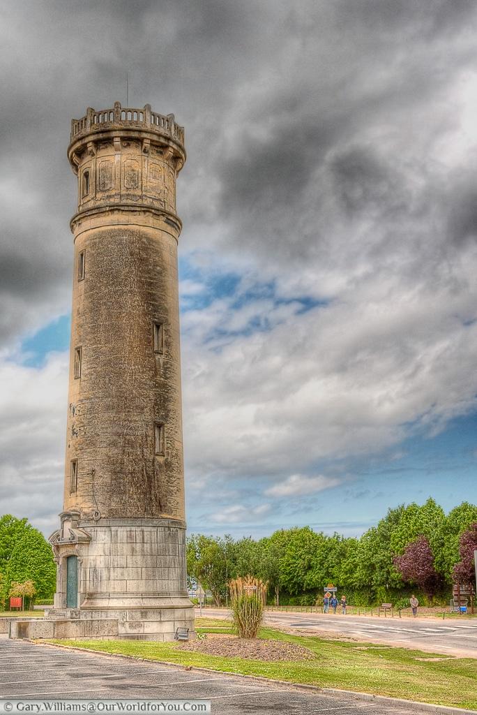 The old Honfleur Lighthouse, Honfleur, France