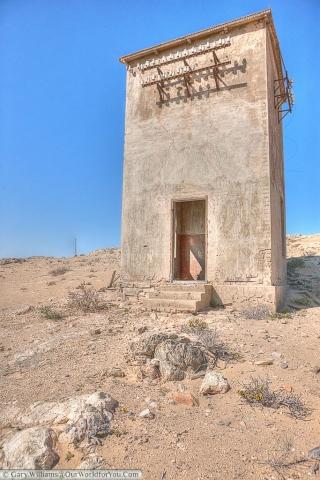 The telecomms building, Kolmanskop, Namibia