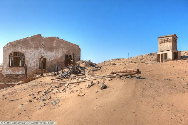 Time takes it toll, Kolmanskop, Namibia