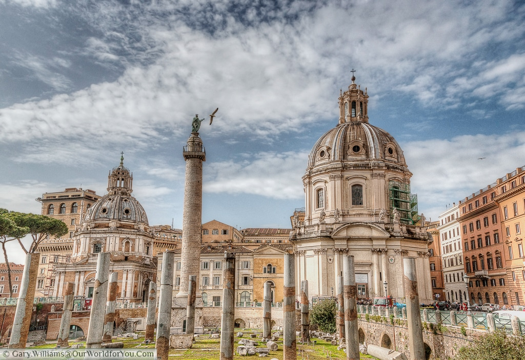 Trajan Forum, Rome, Italy