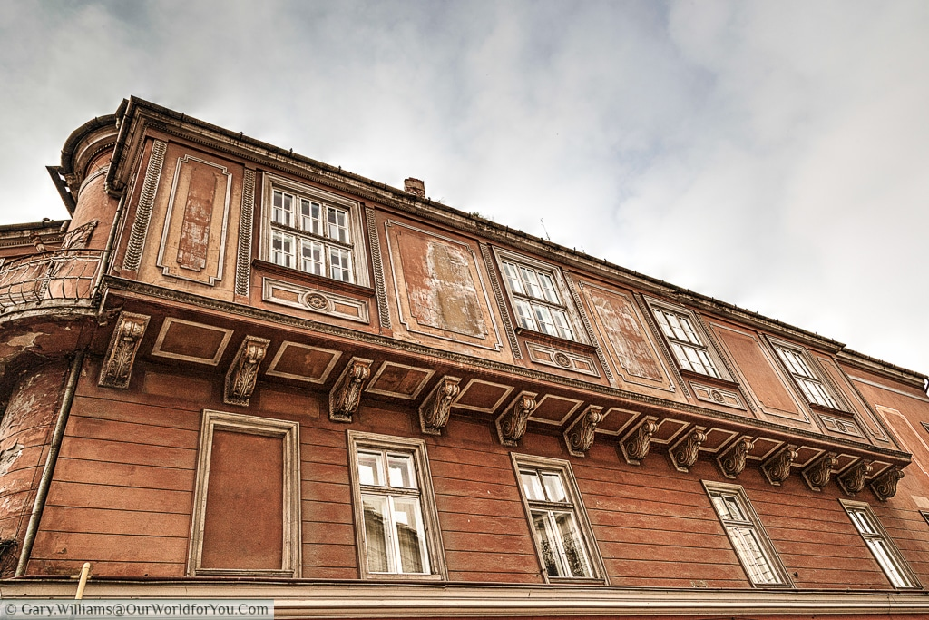 Another beautiful example of the architecture in Timișoara, Romania.