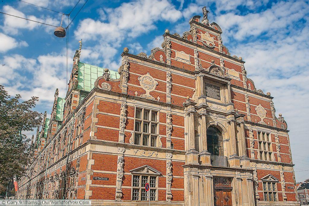 The Børsen, or the old stock exchange, Copenhagen, Denmark