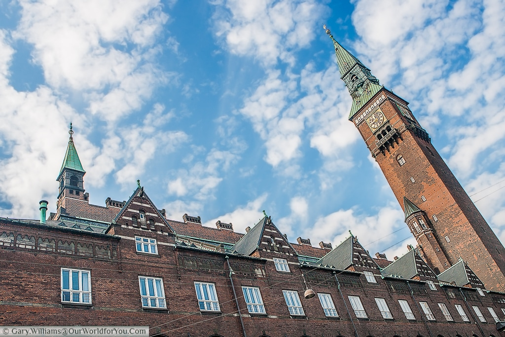 Copenhagen City Hall Tower, Copenhagen, Denmark