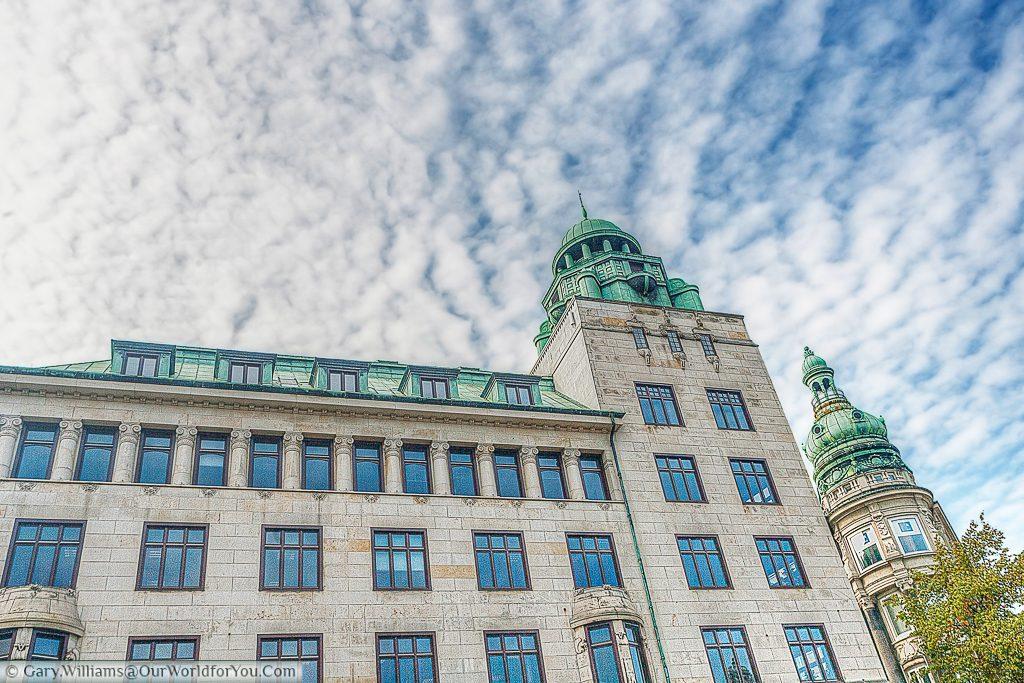 Danske Banke Building from Nytorv, Copenhagen, Denmark