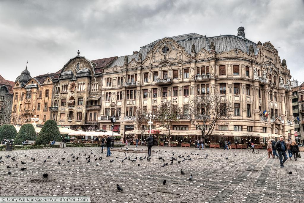 The Lloyd palace, Timișoara, Romania