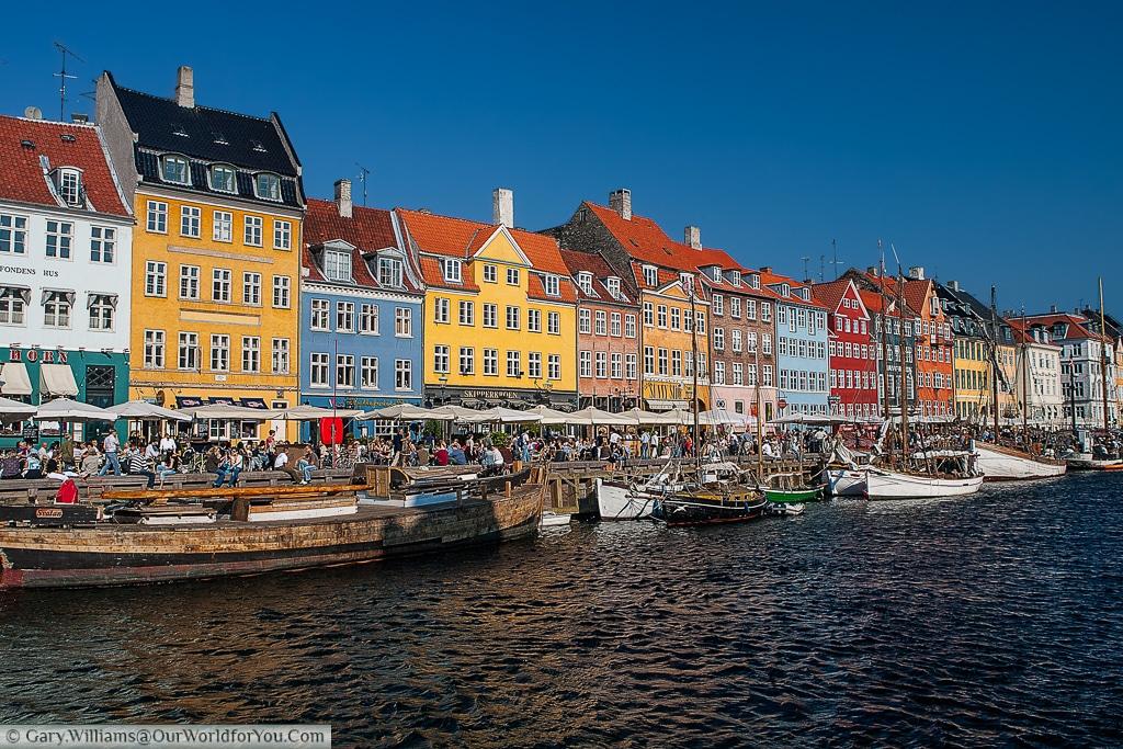 Nyhavn: No better place to spend a few hours in the sun, Copenhagen, Denmark