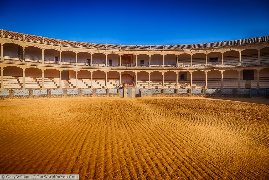 The Bullring, Ronda, Spain