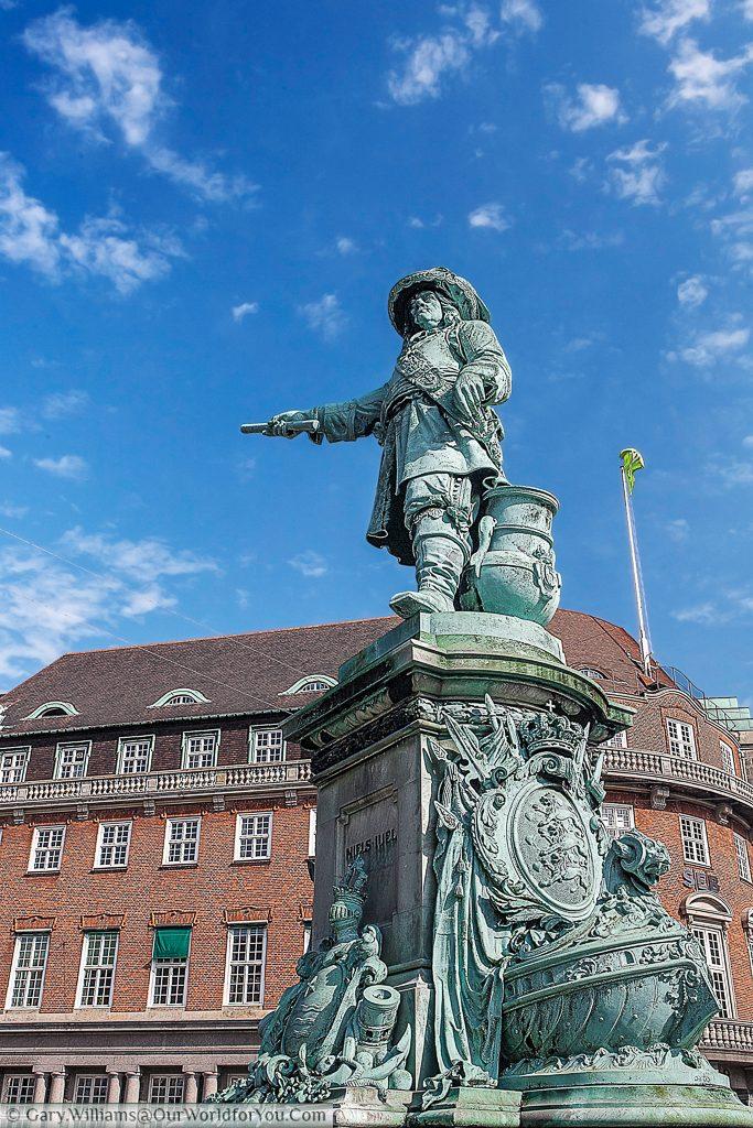 The Niels Juel Statue, Copenhagen, Denmark