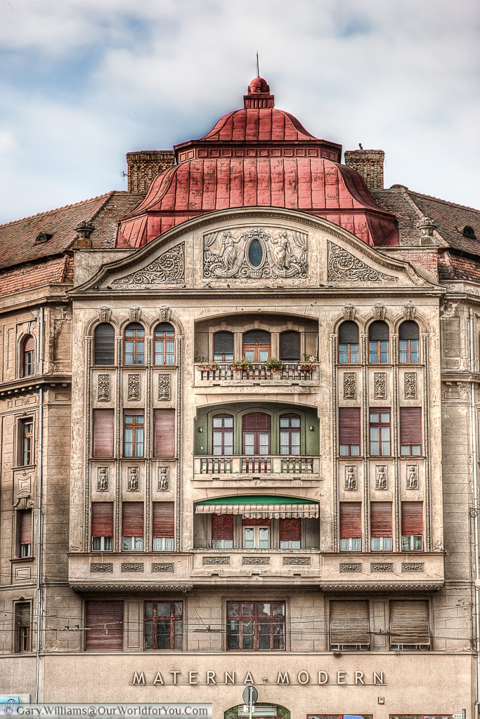 The Weiss palace, Timișoara, Romania