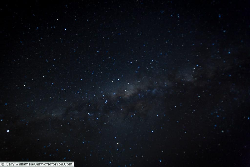 The night sky, Bagatelle Kalahari Game Ranch, Namibia