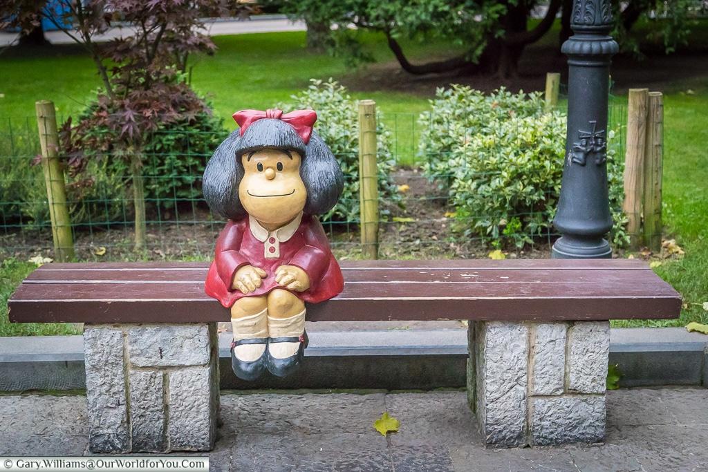 Mafalda, Oviedo, Spain